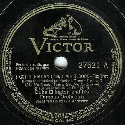 1941-1942 Dooji Collection: Ellington 78 rpm labels