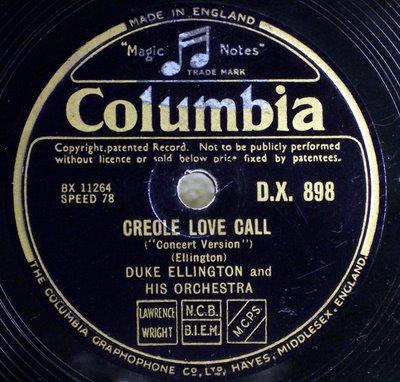 The creole love call duke ellington