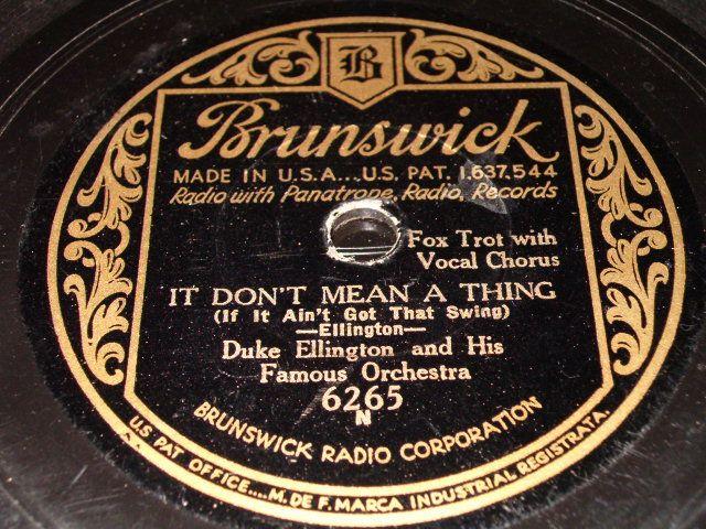 1931-1932 Dooji Collection: Ellington 78 rpm labels